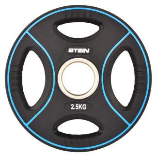 Диск полиуретановый черный Stein 2.5 кг