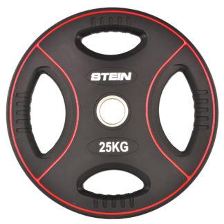 Диск полиуретановый черный Stein 25 кг