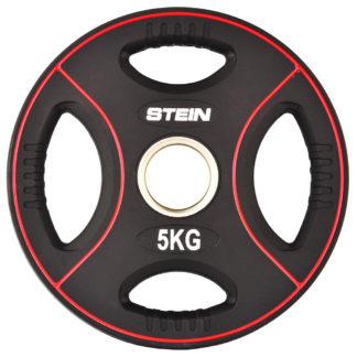 Диск полиуретановый черный Stein 5 кг