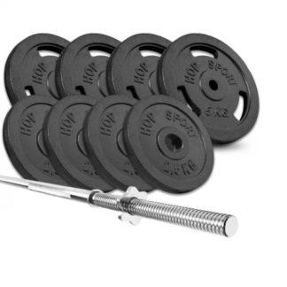 Набор Strong 39 кг с прямым грифом