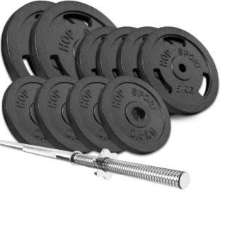Набор Strong 59 кг с прямым грифом