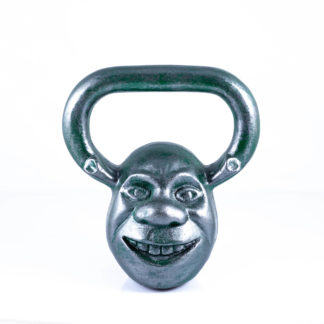 Гиря Шрек 12 кг зеленый металлик