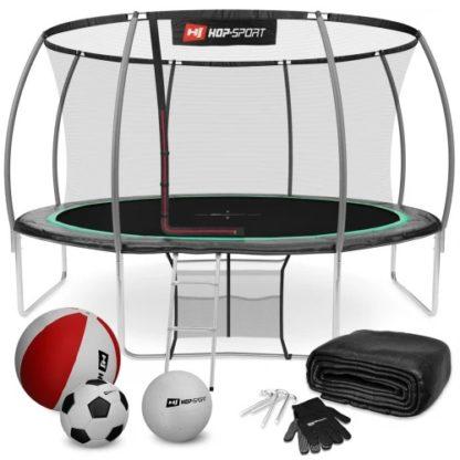 Батут Hop Sport Premium с внутренней сеткой 14ft (427cm)