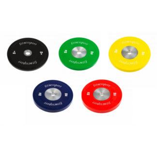 Набор бамперных дисков для кроссфит 5-25 кг Fitnessport