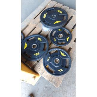Диск олимпийский уретановый 15 кг Fitnessport RCP21-15