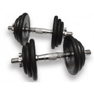Гантели наборные 21 кг Fitnessport DB-02-21kg