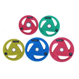 Набор дисков для штанги Fitnessport RCP20 150 кг