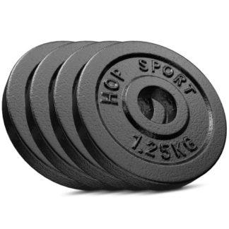 Сет из металлических дисков Strong 4x1,25 кг
