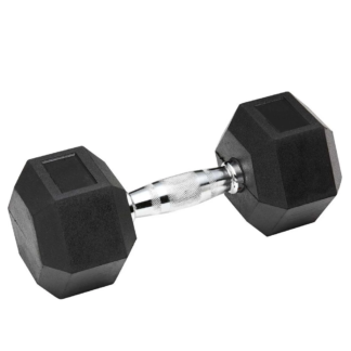 Гантель гексогональная обрезиненная Stein от 1 кг до 10 кг