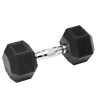 Гантель гексогональная обрезиненная Stein от 12.5 до 40 кг